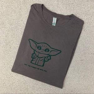 Baby Yoda The Mandalorian T-Shirt XL